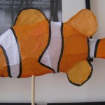 Clown fish sculpture, Emma