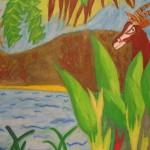 Rousseau pastel, Dipshika